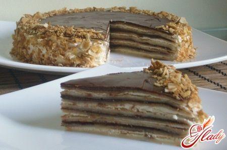 Млинцеві торти: рецепти з фото