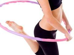Гімнастика і вправи з обручем для схуднення