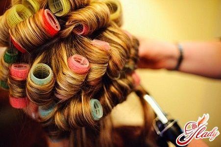 як правильно накручувати волосся на бігуді