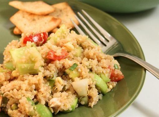 Як приготувати салат з крекером