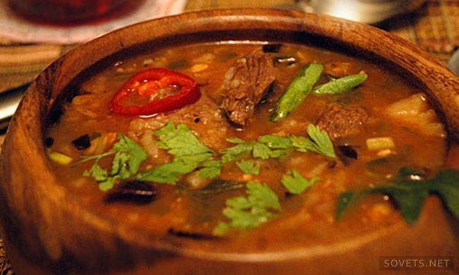 Як приготувати суп харчо - покрокове керівництво, кращі рецепти