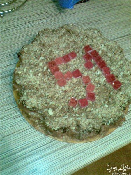 Як приготувати торт на день народження мамі рецепт страви з фото