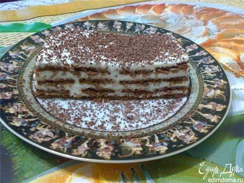 Як приготувати торт суфле з печивом рецепт страви з фото
