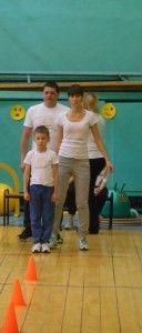 Конкурс - мама, тато, я - спортивна сім`я