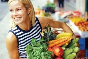 фрукти і овочі цільнозернові крупи