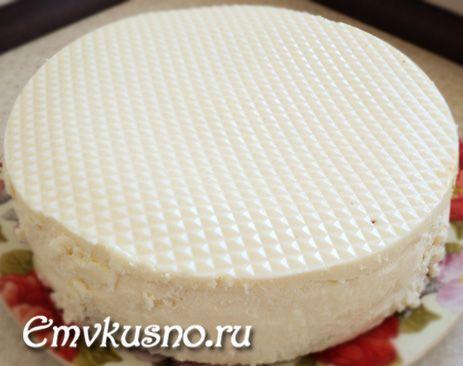Тістечко еклери з сирно-йогуртовим кремом