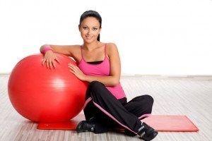Вправи на фітбол для схуднення: чудо-м`яч для стрункості